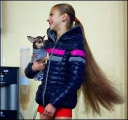トルソワ、髪の毛、美しい、かわいい、母親