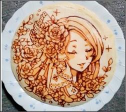 ホットケーキアート、作り方、アレンジレシピ