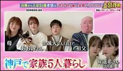 川口葵、両親、妹、弟